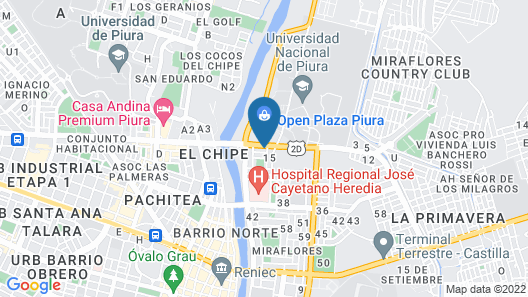 Suite Apart Miraflores Map