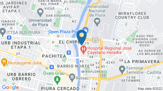 H'epico Rent Apartments Piura Map