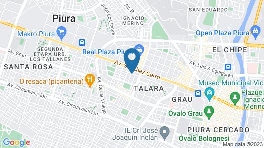 Calmelia Hospedaje Map