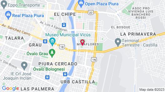 Apartment Rent piura Map