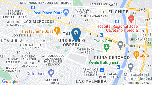 Holiday Inn Piura, an IHG Hotel Map