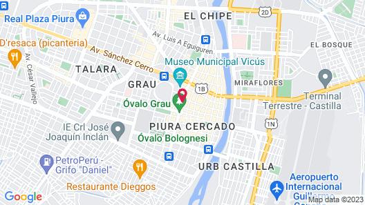 Wyndham Costa del Sol Piura Map