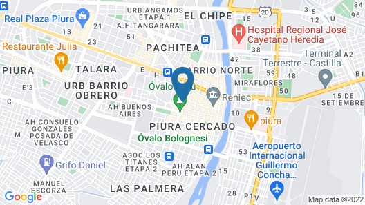 Wyndham Costa del Sol Piura Map