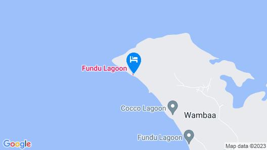 Fundu Lagoon Map