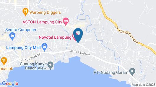 Novotel Lampung Map