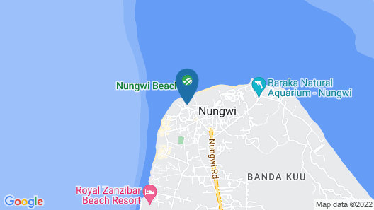 Baraka Beach Bungalows Map
