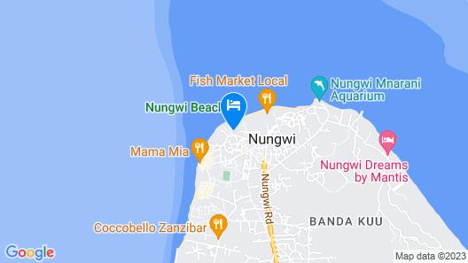 Baraka Beach Bungalows Map