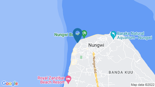 Casa Umoja Guesthouse Map