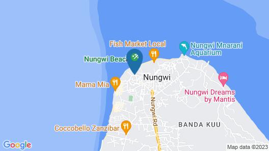 DoubleTree Resort by Hilton Zanzibar - Nungwi Map