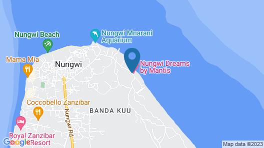 Nungwi Dreams Map