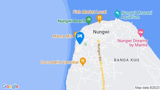 Amaan Beach Bungalows Map