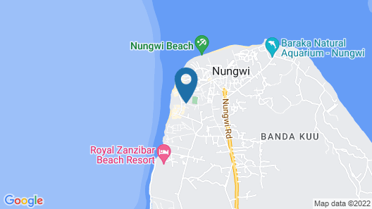 Amaan Nungwi Hotel Map