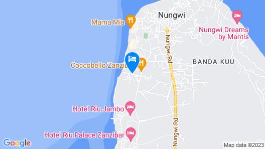 My Blue Hotel Map