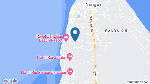 Royal Zanzibar Beach Resort All Inclusive Map