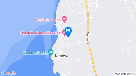 Riu Palace Zanzibar - All Inclusive Map