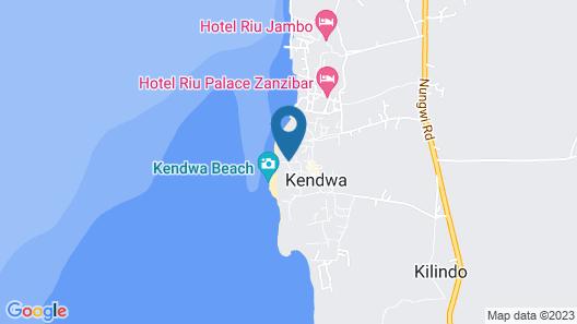 Kendwa Rocks Beach Hotel Map