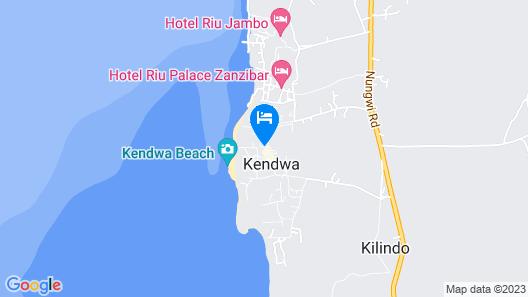 Gold Zanzibar Beach House & Spa Map