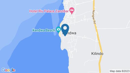 Sunset Kendwa Map