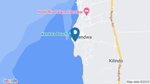 Pumzika Kendwa Villa Map