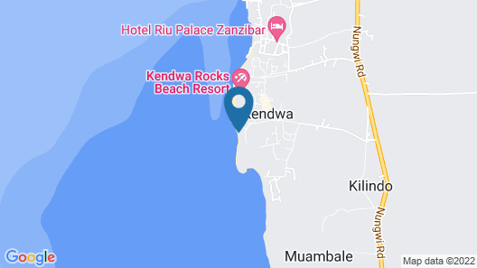 Tropicana Kendwa Beach Hotel Map