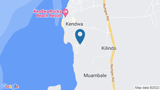 Elewana Kilindi Zanzibar - Adults Only Map