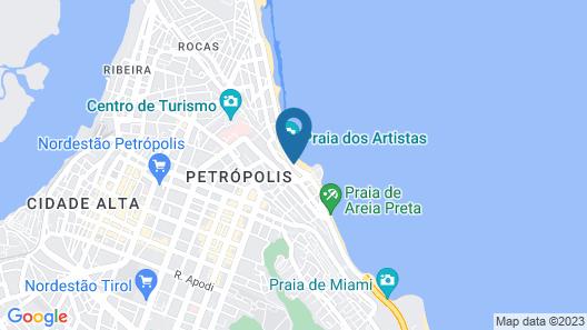 Hotel Bruma Map