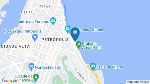 Paraíso Natal Hotel Map