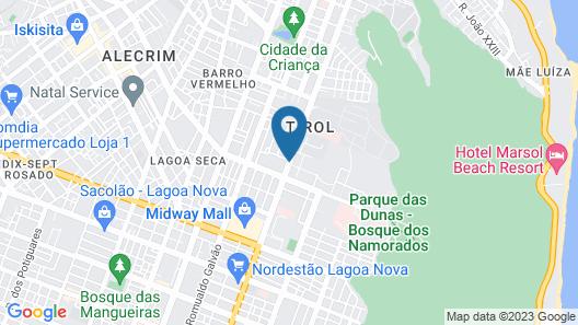Arituba Park Hotel Map