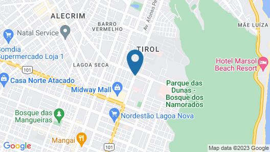 Villa Park Hotel Map