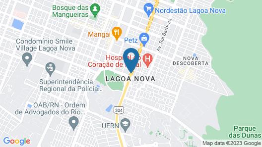 Holiday Inn Natal Map