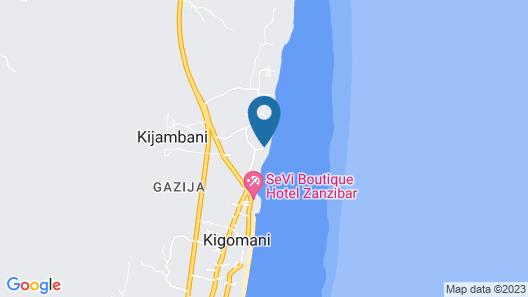 Matemwe Lodge Map
