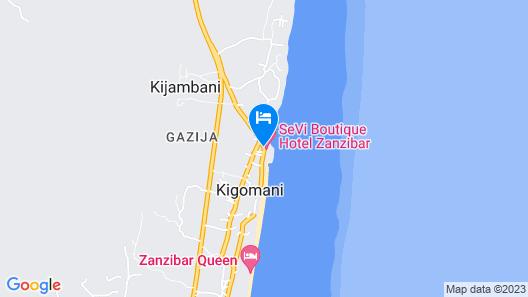 SeVi Boutique Hotel Map