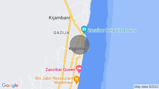 Villa Paradise ON THE Ocean Map