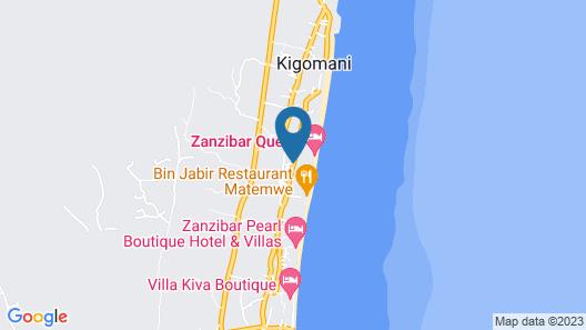 Kena Beach Hotel Map