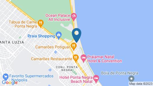Rifóles Praia Hotel & Resort Map