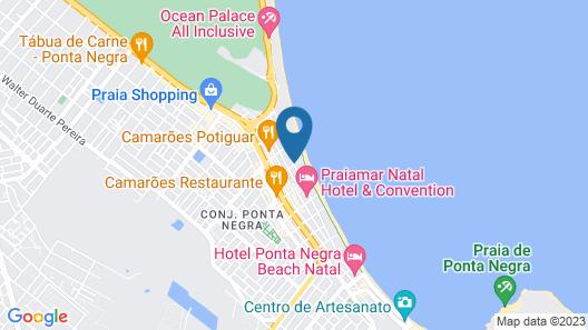 Esmeralda Praia Hotel Map