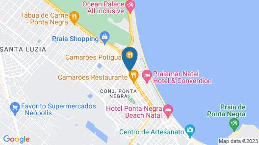 Best Western Premier Majestic Ponta Negra Beach Map