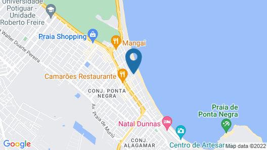 Coral Plaza Apart Hotel Map