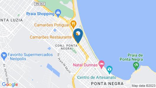 Natal Dunnas Hotel Map