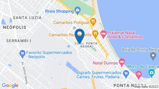 Pousada Beija-Flor Map