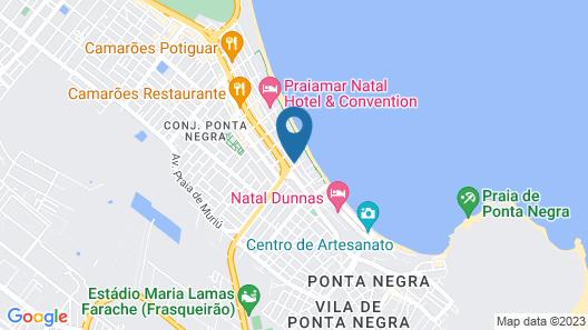 Terra Brasilis Praia Hotel Map