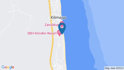 Miramont Retreat Zanzibar Map