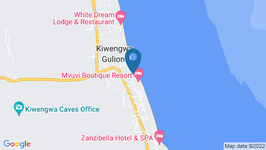 Kiwengwa Beach Resort Map