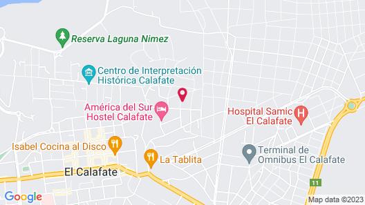 Patagonia Suites Map