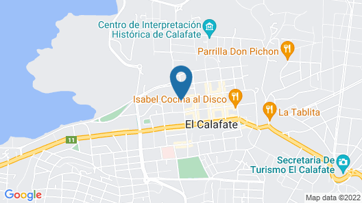 Hotel Posada Los Alamos Map