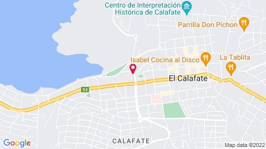 Linda Vista Apart Hotel Map