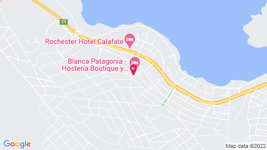 Blanca Patagonia Boutique Inn and Cabins Map