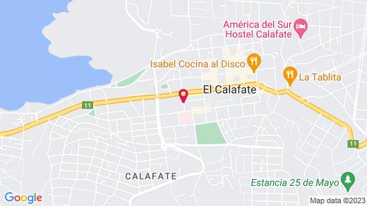 ACA El Calafate Map