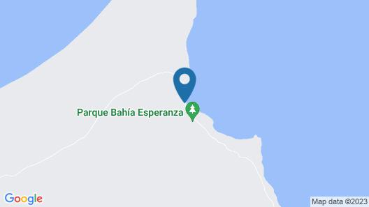 Estancia Bahía Esperanza Map