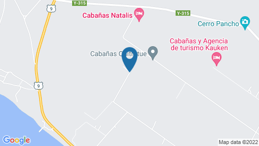 Cabanas Amerindia Map